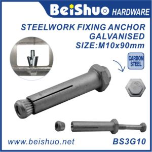 M10X90 Carbon Steel Concrete Sleeve Anchor Bolts 8.8