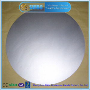 Superior Quality Molybdenum Disc (purity 99.95%) with Factory Price pictures & photos
