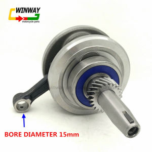 Ww-9790 Motorcycle Engine Parts with Rod Crankshaft for Cg125/Zj125 pictures & photos
