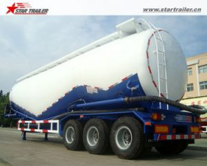 35-40ton Wheat Flour Bulker Semi Trailer with 3axles pictures & photos