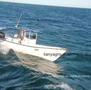 Liya 4.2-7.6meter Boats Fiberglass Fishing Yacht for Sale