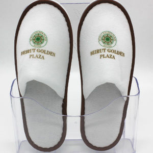 Unisex Disposable Slippers Closed Toe SPA Flat Shoe pictures & photos