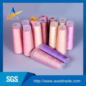 100% Spun Polyester Yarn FDY Yarn Knitting Yarn Home Textile