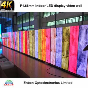4k High Resolution 1.66mm LED Video Wall Display Panel pictures & photos