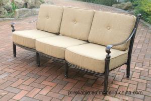 China Classic Garden Cast Aluminum Outdoor Sofa Furniture China
