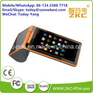 Android Supermarket Barcode Scanner Handheld POS Terminal pictures & photos