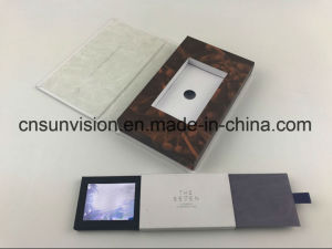 China Personalized Business Name Card 24 Lcd Video Brochure