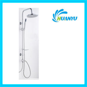 ABS Shower Set with Sliding Hand Shower Holder Hy1012 pictures & photos