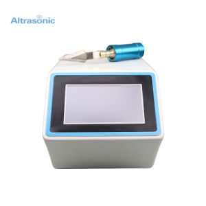 High Quality 25kHz Ultrasonic Cutting Machine with Touch Screen Digital Generator