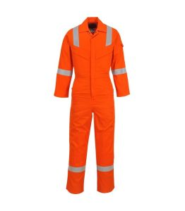 En11611 /11612 Standard Orange with Reflective Flame Retardant Overall Clothing pictures & photos