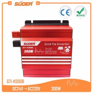 Suoer 24V 220V 300W Grid Tie Solar Power Inverter (GTI-H300B)