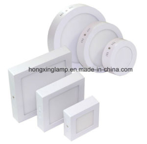 LED Round Panel Light Surface Mounted Lamp 3W 6W 12W 18W 24W pictures & photos