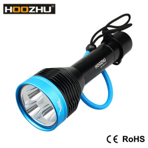 Hoozhu D30 3000lm and Watrproof 100m LED Light for Dive