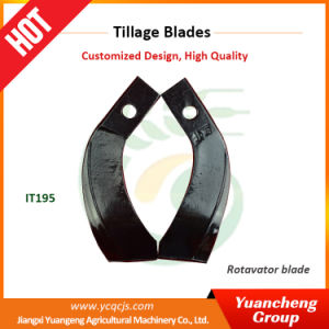 Jiangxi Tractor Parts High Quality Diagram of Disc Plough Tiller Blade