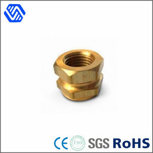 CNC Special Precision Hex Nut Customized Coupling Brass Barrel Nuts pictures & photos