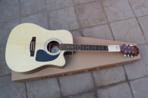 Hanhai Music/41′′ Acoustic Guitar with Cut-Away Body (DR-200) pictures & photos