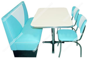 china popular american style retro 50s diner table chair and booth