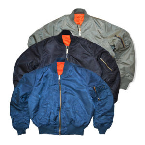 Pilot Ma1 Classic Padded Bomber Jacket Mens pictures & photos