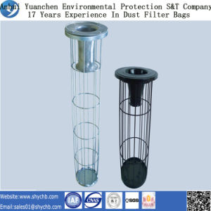 Power Plant Use Galvanized or Organic Silicon Filter Cage pictures & photos