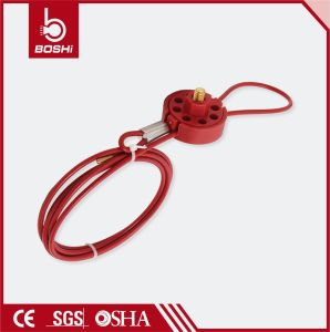 PC Coated 2m Length Wheel Cable Lockout (BD-L31) pictures & photos