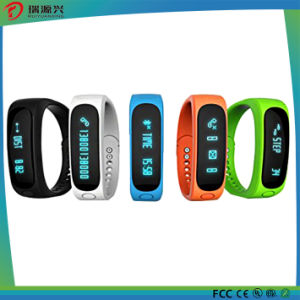 Custom Charm Fitness/Sport Bangle Silicon/Silicone USB Watch Bluetooth Smart Bracelet