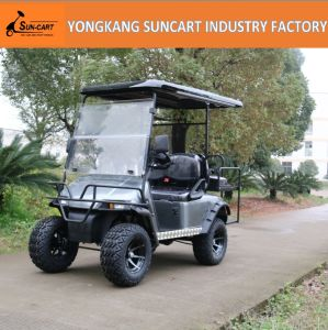 2+2 Seat Golf Car Export to North American, Customized Golf Car with Painted Wheels