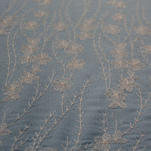 Ployester Embroidery Lace Fabric