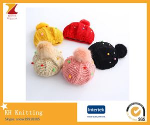 Hot Sale Children Cute Pompon Beanie Hat