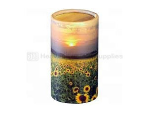 China Funeral Biodegradable Scattering Tube / Cremation Urn