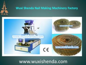 Professional High Precision Coil Nail Machine pictures & photos
