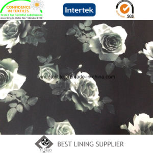 Polyester Print Lining Fabric pictures & photos