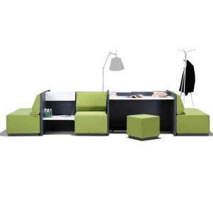 Study Work Bench Stool And Lounge Sofa