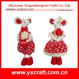 Girls Valentine Day Stuffed Animals (ZY12S32-1-2) pictures & photos