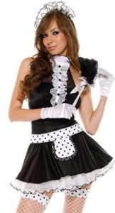 2010 Sexy Lingerie - French Maid Costume