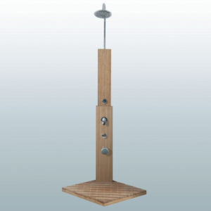 Garden Shower, Outdoor Shower, Outdoor Furniture, Outdoor Wooden Shower, Wooden  Shower (