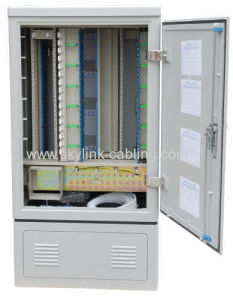 Fiber Optic Cross Cabinet- Fiber Outdoor Cabinet-Waterproof Fiber Cabinet