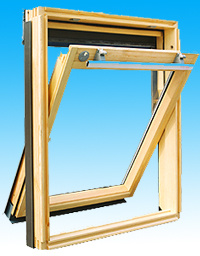 Aluminum Wood Compos Window (KL-002)