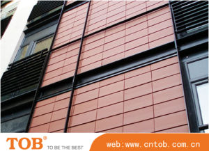 Terracotta Facade Panel with 18mm Thickness