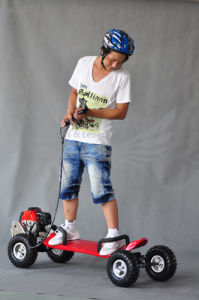 Cable Control 49cc Petrol Skateboard for Sale pictures & photos