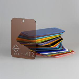 100% Virgin Lucite Tea Color Cast Acrylic Sheet