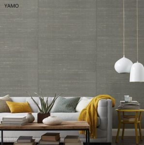 Textured Pure Chinese Silk Fabric Wallpaper Elegant Textile Wallcovering for Home Decoration