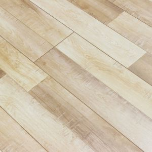 Real Wood Texture Laminate Flooring With V Groove