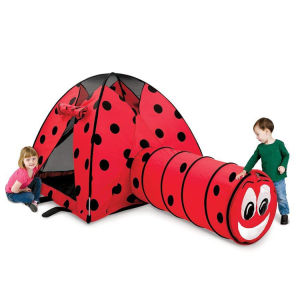 separation shoes a87fa 284d5 Ladybug Indoor Outdoor Dome Children Kid Play Crawl Tent