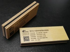 Particle Board Sound-Proofing Timber for Building Material and Furniture Marine Plywood 17mm