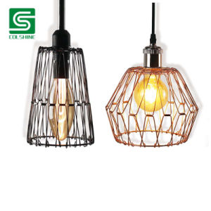 Vintage Foldable Metal Lampshade for Pendant Light DIY