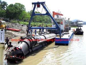 Low Price with High Efficient Hydraulic Cutter Suction Sand Dredger