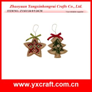Christmas Decoration (ZY16Y136-8-9 24CM) Christmas Outdoor Christmas Item pictures & photos