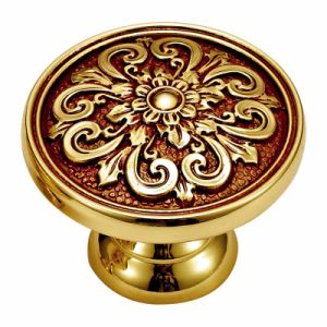 Classic Patterns Solid Brass Cabinet Knob Handle
