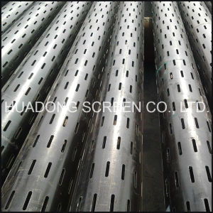 N80 Slotted Liner J55 Laser Slotted Pipe Tube pictures & photos