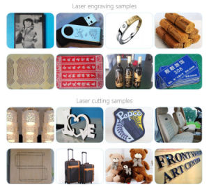 CO2 Laser Non Metal Materials Laser Engraving Cutting Machine for Leather Fabric Shoes Marking pictures & photos